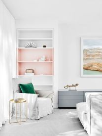 White And Pastel Bedroom 88