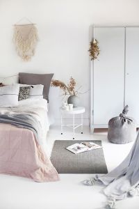 White And Pastel Bedroom 97