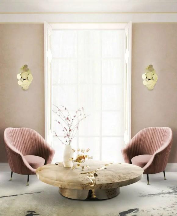 Elegant Contemporary Living Room 14