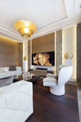 Elegant Contemporary Living Room 24