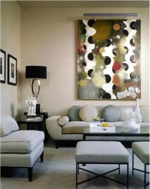 Elegant Contemporary Living Room 41