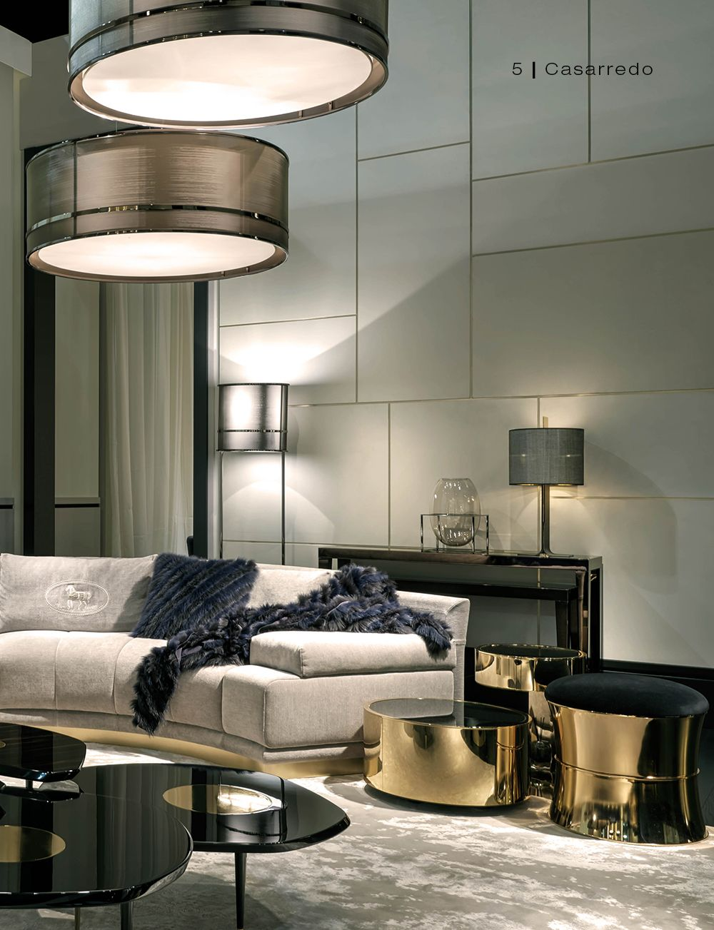 Elegant Contemporary Living Room 42