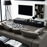 Elegant Contemporary Living Room 45