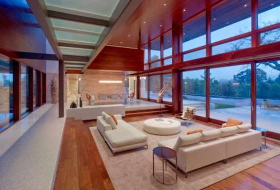 Elegant Contemporary Living Room 5