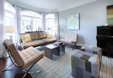Elegant Contemporary Living Room 53