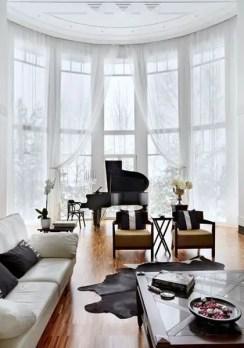 Elegant Contemporary Living Room 54