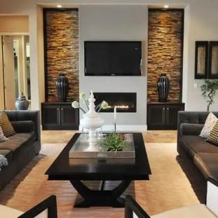 Elegant Contemporary Living Room 56