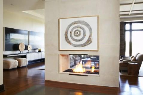Elegant Contemporary Living Room 62