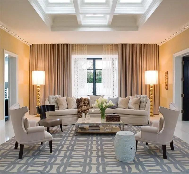 Elegant Contemporary Living Room 66