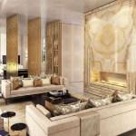 Elegant Contemporary Living Room 77