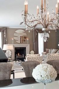 Elegant Contemporary Living Room 83