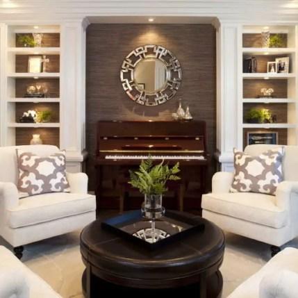 Elegant Contemporary Living Room 85