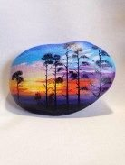 Painted Rocks With Inspirational Picture And Words 110
