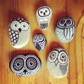 Painted Rocks With Inspirational Picture And Words 133