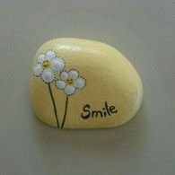 Painted Rocks With Inspirational Picture And Words 76