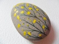 Painted Rocks With Inspirational Picture And Words 81