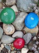 Painted Rocks With Inspirational Picture And Words 93
