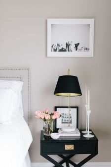 Pink White And Gold Bedroom 53