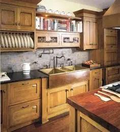 Spanish Mission Style Kitchen 10