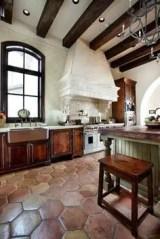Spanish Mission Style Kitchen 25