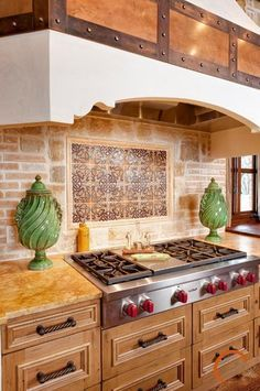 Spanish Mission Style Kitchen 31