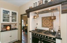 Spanish Mission Style Kitchen 37