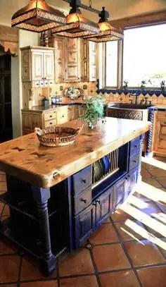 Spanish Mission Style Kitchen 45