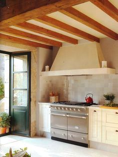 Spanish Mission Style Kitchen 48