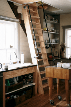Attic Stairs Ideas 25