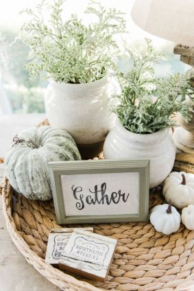 Farmhouse Fall Decor 11