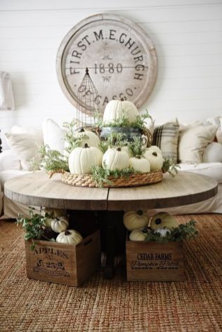 Farmhouse Fall Decor 21