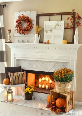 Farmhouse Fall Decor 23