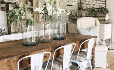 Farmhouse Living Rooms 17