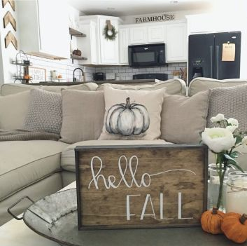 Fall Apartment Decor 21