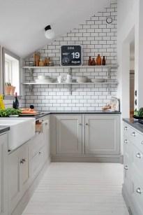 Gray Cabinets Black Countertops 8