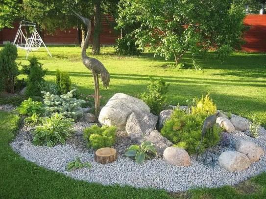 Rock Garden Design 12