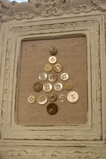 Burlap Christmas Tree Wreath 4