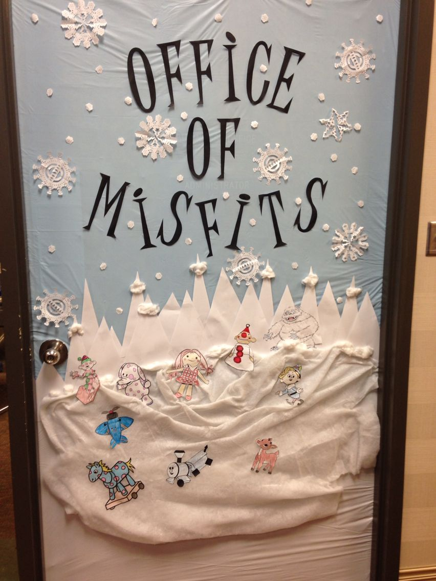 Christmas Office Decorations 10