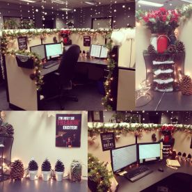 Christmas Office Decorations 13