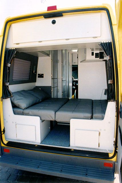 Conversion Van Interior 18
