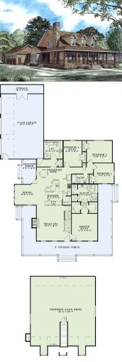 Farmhouse Floor Plans 3