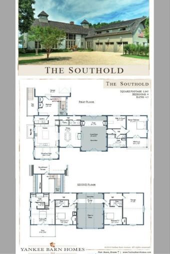 Farmhouse Floor Plans 4