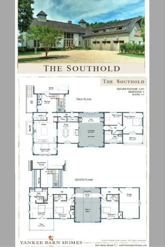 Farmhouse Floor Plans 4