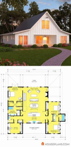 Farmhouse Floor Plans 6