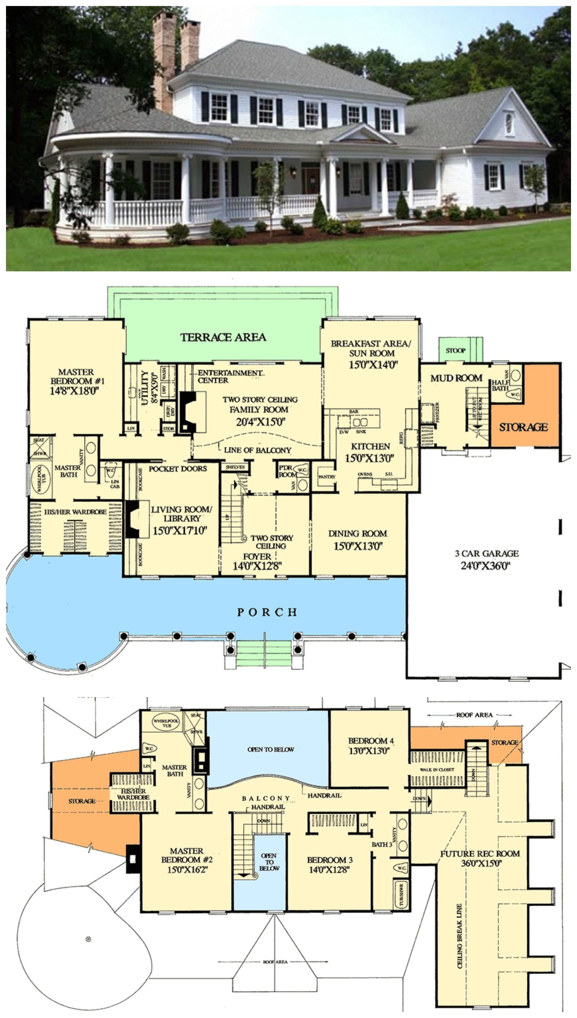 Farmhouse Floor Plans 7