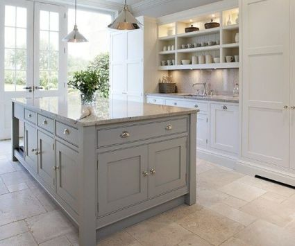 Grey And Beige Kitchen 10