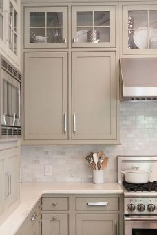Grey And Beige Kitchen 2