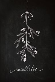 Christmas Chalkboard Art 1