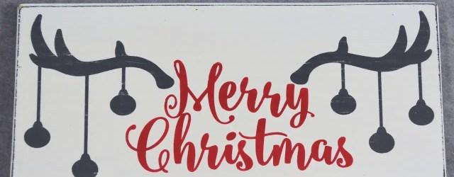 Christmas Chalkboard Art 10
