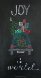 Christmas Chalkboard Art 13